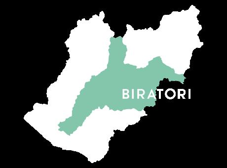 平取町の地図