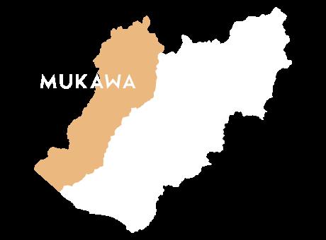 むかわ町の地図